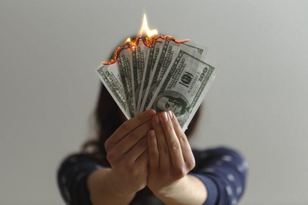 創業很燒錢